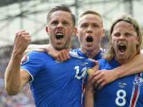 EURO 2016 - Group F Iceland vs Hungary