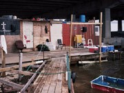Sexualstraftäter; Camp; USA; Brücke; Miami
