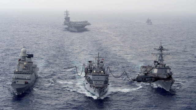 Militäreinsatz im Mittelmeer Marinemissionen vor Europa