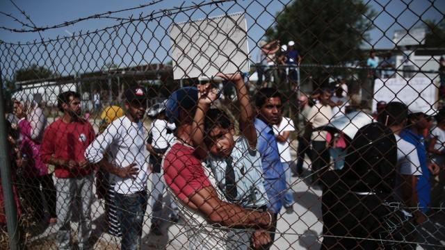 Flüchtlinge Flüchtlingskrise