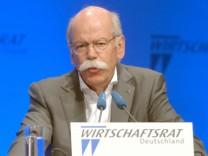 CDU-Wirtschaftstag mit Dieter Zetsche