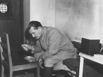 Hermann Göring bei den Nürnberger Prozessen, 1945