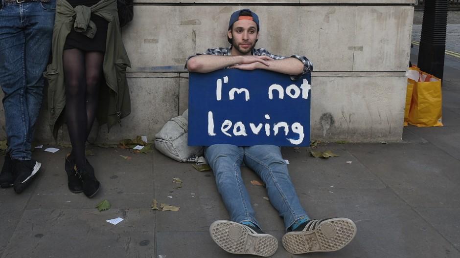 BESTPIX Britain Reacts To The EU Referendum Result