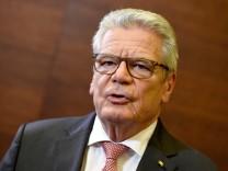 Brexit Entscheidung - Gauck