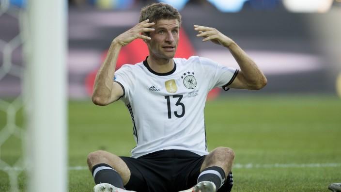 Fussball EURO 2016/ Achtelfinale/ Deutschland - Slowakei 3:0