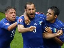 EURO 2016 - Round of 16 Italy vs Spain