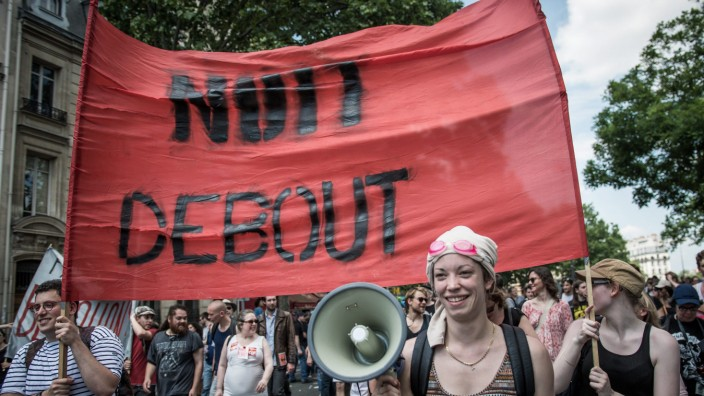 National protest and strike against Labor Law reform in France