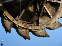 Tagebau Schaufelradbagger