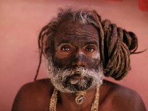 Hinduismus, Sadhu in Girnar / Foto; 07_Michaud_S.223_Indien