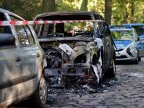 Schmierereien und Brandanschläge in Zehlendorf
