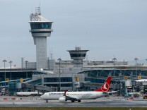 FILE PHOTO - A Turkish Airlines aircraft taxis at Ataturk International Airport in Istanbul