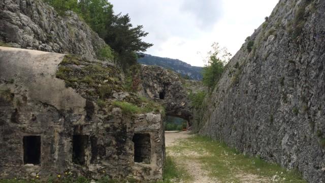 Werk Valmorbia Erster Weltkrieg Trentino
