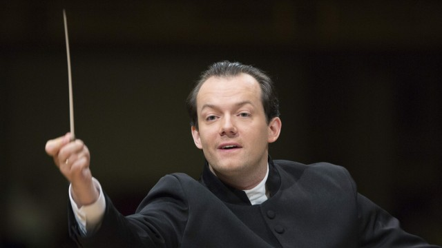 Andris Nelsons, the new Music Director of the Boston Symphony Orchestra, leads his inaugural concert at Symphony Hall in Boston