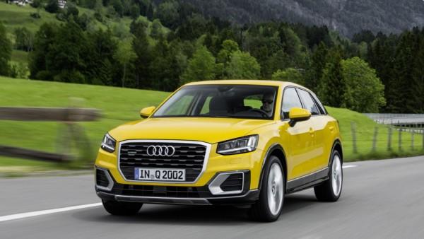 Der neue Audi Q2.