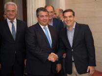 Gabriel in Griechenland