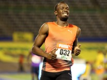 FILE PHOTO -  Athletics - Jamaica National Trials - Men's 100m - Kingston