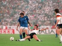 Fußball-EM '88: Deutschland - Italien 1:1