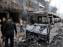 suicide car bomb attack in the Karada district of central Baghdad