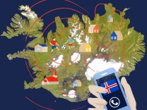 Anrufe in Island