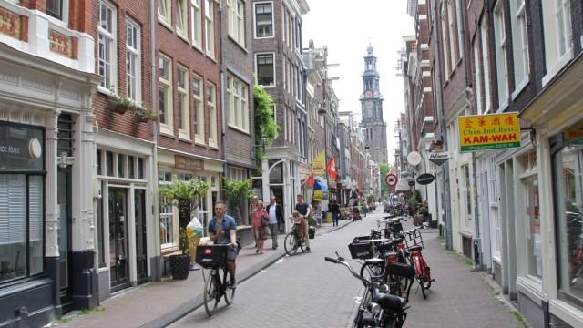 Amsterdam Niederlande Städtereise Städtereisen Fahrrad Rad Grachten