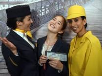 Lufthansa Casting für Flugbegleiter