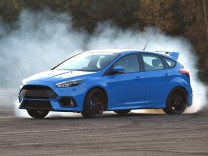 Der Ford Focus RS beim Drift