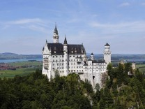 A south Bavarian castle Neuschwanstein is seen near Schwangau, file