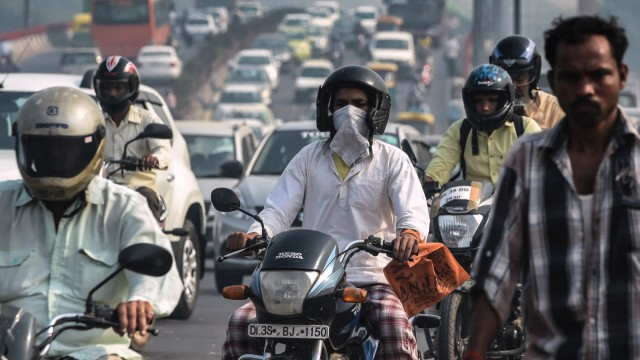 Smog in Neu-Delhi