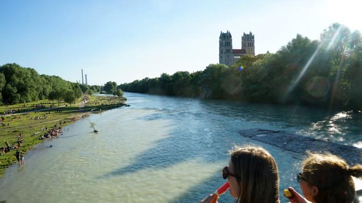 Isar Fluss Karte.Bars Und Cafés Am Isarufer Es Ist Kompliziert München