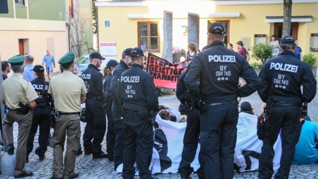 Protest gegen AfD