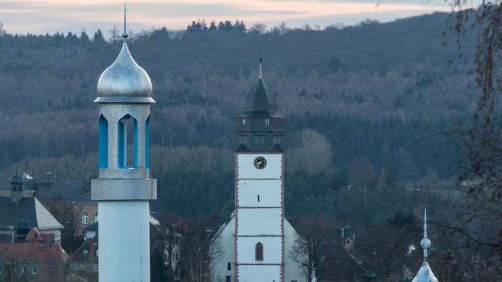 Klare Sicht auf Frankfurt/Main