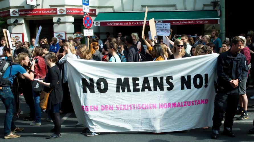 """Prozess gegen Lohfink - ´Nein heißt Nein"""""""