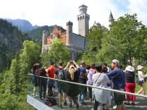 Chinesische Touristen vermisst