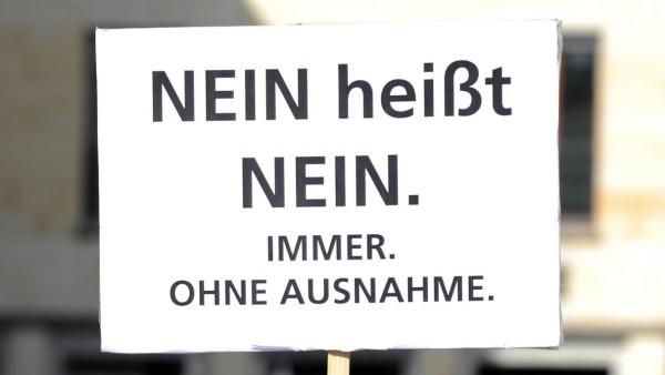 """Demonstration - ´Nein heißt Nein"""""""
