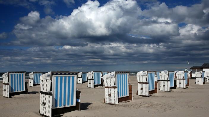 Windiges Wetter an der Ostsee