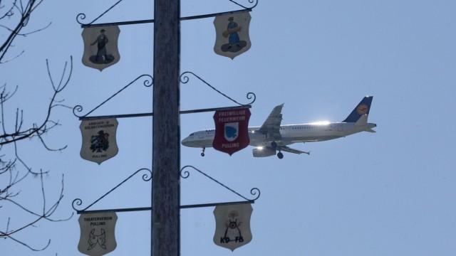 Fluglärm Wohnen in Nähe des Flughafens