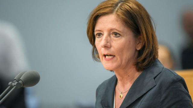 Malu Dreyer im Landtag Rheinland-Pfalz