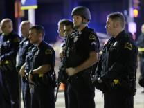 Polizisten in Dallas
