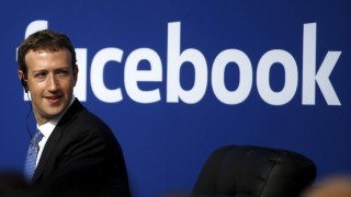 File photo of Facebook CEO Mark Zuckerberg during a town hall at Facebook's headquarters in Menlo Park, California