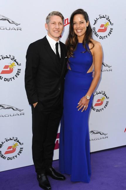 June 25 2015 London England United Kingdom Ana Ivanovic and Bastian Schweinsteiger attends th