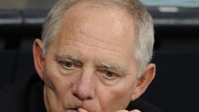 Schäuble und der Bundesrat