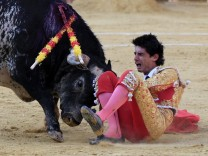 Bullfighter dies at Feria del Angel