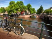 Amsterdam mit dem Rad