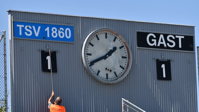 "TSV 1860 München II âÄ"" SpVgg Unterhaching"