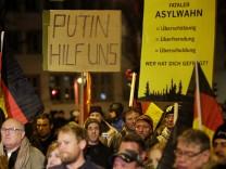 AfD Demonstration in Erfurt