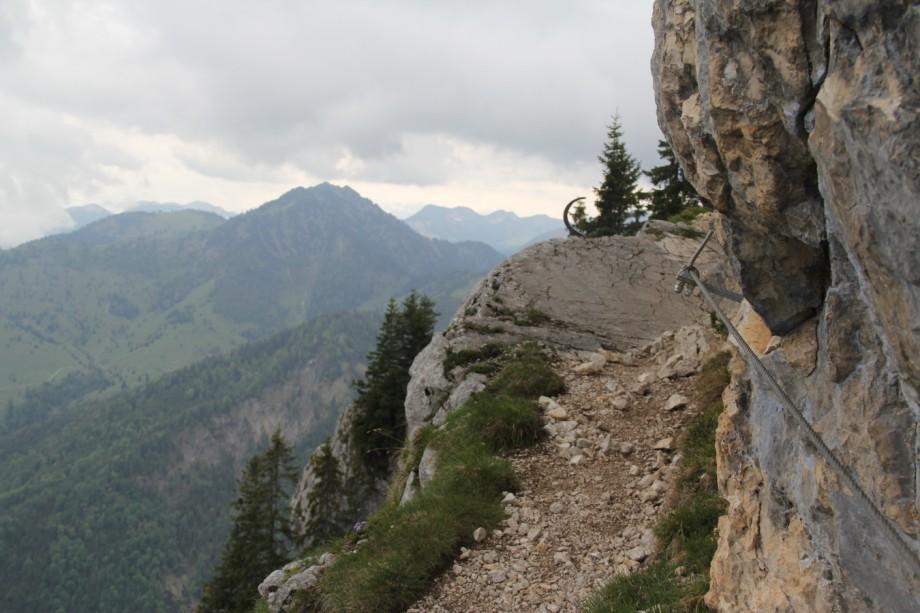Klettersteig Tegernsee : Diese klettersteige in bayern machen lust auf mehr