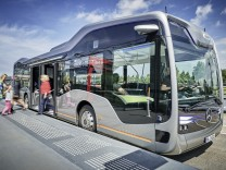 Mercedes Future Bus in Amsterdam