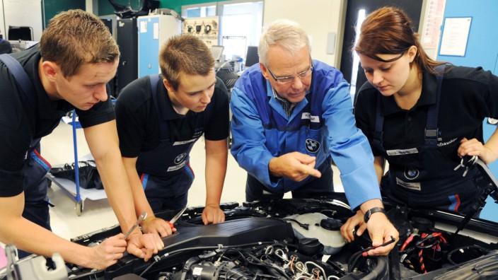 Lehrstelle als Kraftfahrzeugmechatroniker
