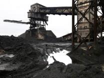 DONETSK, UKRAINE. DECEMBER 19, 2014. Outside the Trudovskay mine damaged during a shelling attack. C