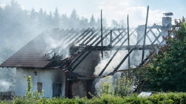 Explosion in Wohnhaus